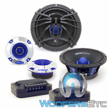 "SOUNDSTREAM SME.650C 6.5"" PRO AUDIO 200W COMPONENT SPEAKERS TWEETERS CROSSOVERS"