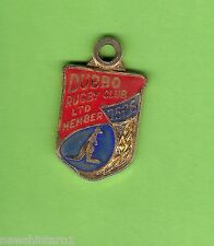 #D229. Dubbo Rugby Union Club Member Badge 1975-76 #633