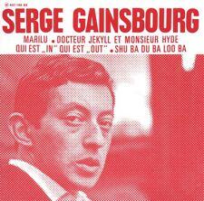 "CD Single Serge GAINSBOURG Qui est ""in"" Qui est ""out"" EP REPLICA + RARE +"