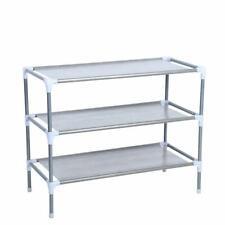 3 Tier 9 Pairs Home Storage Organizer Cabinet Shelf Space Saving Shoe Tower Rack