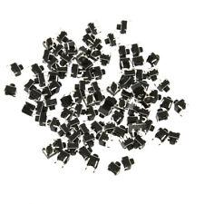 SPST 100pcs 6x6x6mm momentaneo tattile Mini interruttore di pulsante PCB
