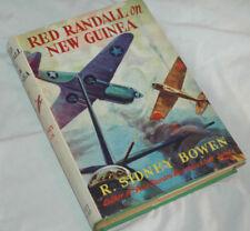 RED RANDALL ON NEW GUINEA Rare 1944 WW2 BOWEN World War II HC/DJ 1st Ed Aircraft