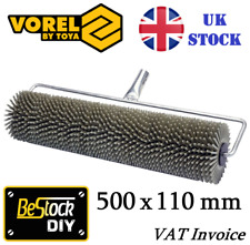 Spiked Venting Aeration Roller 500 x 110mm Self Levelling Screed Flooring Tools