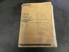Caterpillar CAT 3406B Engine Industrial Parts Manual   6TB   SEBP1434-06