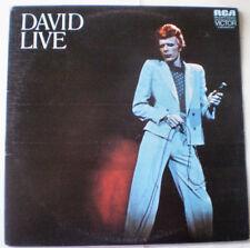 David Bowie Excellent (EX) Sleeve Vinyl Records