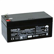 Fusion 12V 3.5Ah CB12V3.5AH AGM VRLA Security Back Up Alarm Battery