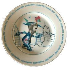 """London 2012 olympics collectable commemorative Wenlock Plate 8"""""""