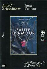 Faute D'amour DVD Andreï Zviaguintsev Télérama Livraison Gratuite