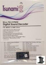 Soundtraxx Tsunami ~ nuevo 2019 ~ 2 ~ TSU-21 Pin Decodificador de Sonido EMD-2 ~ ~ 885023