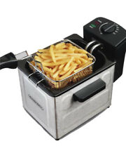 Electric Deep Fryer Stainless Steel French Fries Fried Chicken Maker With Basket