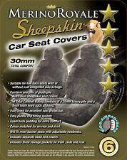 Sheepskin Car Seatcovers for Mitsubishi Triton MR2019-ON  ,Seat Airbag Safe