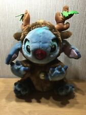 "Disney Lilo And Stitch Plush Soft Toy 16"" Large Nose Flashes Music Christmas"