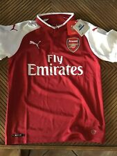 Puma Arsenal Home Jersey Youth Xl - Fly Emirates Soccer Red / White
