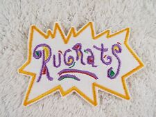 """RUGRATS 5"""" Embroidery Iron-on Custom Patch (E7)"""