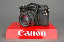 Canon F-1 35mm SLR Film Camera - w/ Prism Finder & Canon 50mm f/1.4 Lens