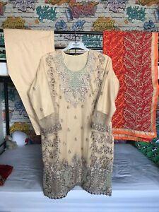 ladies salwar kameez large / Asian Clothes