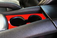 2010-2014 Chevrolet Camaro Billet Cup Holder Bezel Orange