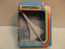 MATCHBOX SUPERFAST SKY-BUSTERS SB-23 CONCORDE SUPERSONIC AIRLINER AIR FRANCE NEW