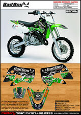 2002-2012 KAWASAKI KX 65 Bad Boy Motocross Graphics Dirt Bike Graphics KIT