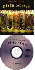 JOHN SCOFIELD Piety Street RARE Slimline PACKAGE ADVNCE PROMO DJ CD 2009 USA