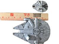 1996 LFL Star Wars Millenium Falcon Blueprint & Miniature Toy Plastic Vintage