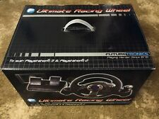 FUTURE TRONICS Ultimate Racing Wheel - To suit: PlayStation 3 & PlayStation 2