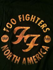 Foo Fighters Shirt, Xl, North American Tour 2011, Good Condition!