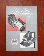 Bolex Product Catalog, Nov 1952, 24 Pages/211809