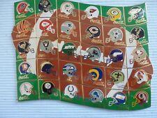 30 COCA COLA  NFL RED ZONE 1996 HELM Pins ( SET )
