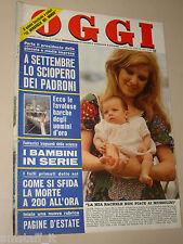 OGGI 1974/31=CASALSIGONE=LELLA LOMBARDI=MARIO BERRINO=GIANMARIA BUCCELLATI=FERRI