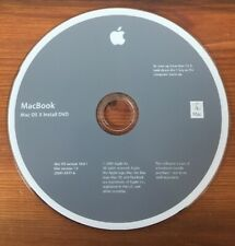 2009 Macintosh MacBook Snow Leopard OS X 10 10.6.1 Software Install DVD Disc