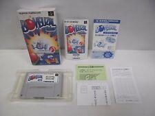 BOMBUZAL -- Boxed. Super famicom, SNES. Japan game. Work fully. 11971
