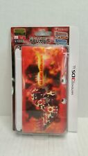 Hori Nintendo 3DS LL Pokemon TPU Hard Cover Clear Genshi Groudon Japan HTF