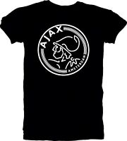 AFC Ajax Amsterdam Football Club Soccer T Tee Shirt Handmade Team Sports