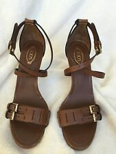 New With Box Tod's Sandals Size 37