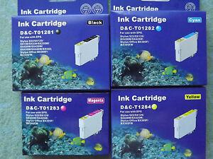 10 Druckerpatronen für  EPSON Stylus S22 SX125 SX130 SX235 SX235W SX435 SX435W