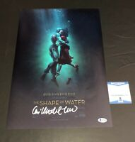 GUILLERMO DEL TORO SIGNED SHAPE OF WATER 12X18 POSTER AUTOGRAPH BECKETT COA 1