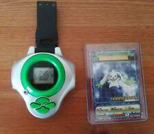 Digimon Digidispositivo temporada 3 D-Power Verde Terriermon tarjeta