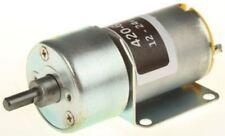 RS Pro, 12 V, 12 → 24 V dc, 1500 gcm, Brushed DC Geared Motor, Output Speed 6