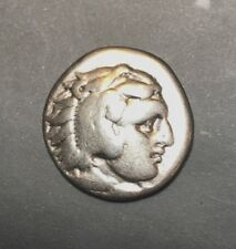 ANCIENT GREEK SILVER COIN; ALEXANDER THE GREAT III 336-323 BC!