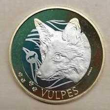 Schweiz  10 Franken 2021 Fuchs  stempelglanz aus KMS