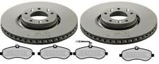 PEUGEOT EXPERT 1.6 2.0 HDI FRONT BRAKE PADS AND DISCS - 304mm
