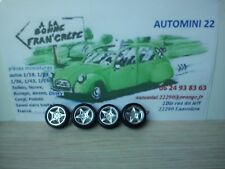 Burago 1/18 pièces  BMW M roadster    4 roues complètes
