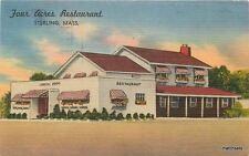 1960s Four Acres Restaurant Sterling Massachusetts linen Tichnor 12669