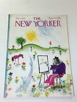 The New Yorker: May 22 1972 - Full Magazine/Theme Cover Ronald Searle