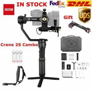 Zhiyun Crane 2S Cambo3-Axis Handheld Gimbal Stabilizer fr DSLR Mirrorless Camera