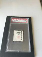 1969-70 O-PEE-CHEE STAMPS ED GIACOMIN PSA 6 EX-MT