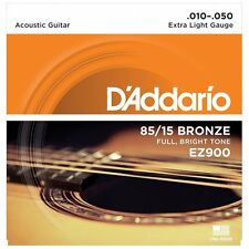 D'Addario EZ900 American Bronze Cuerdas de Guitarra Acústica-Extra Luz - 10-50