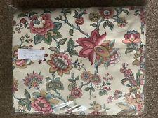 "Pair Floral Curtains Pencil Pleat 70"" X 84"" - New"
