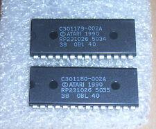 NEU Atari 520 1040 STE Komputer TOS 1.62 Deutsch Language Betriebssystem 2 Roms
